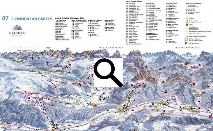 Skigebied Alta Pusteria - 3 Zinnen Dolomiten