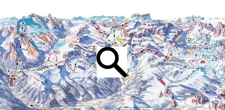 Skigebied Arabba Marmolada