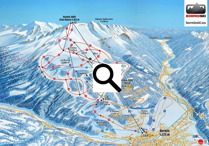 Skigebied Bormio