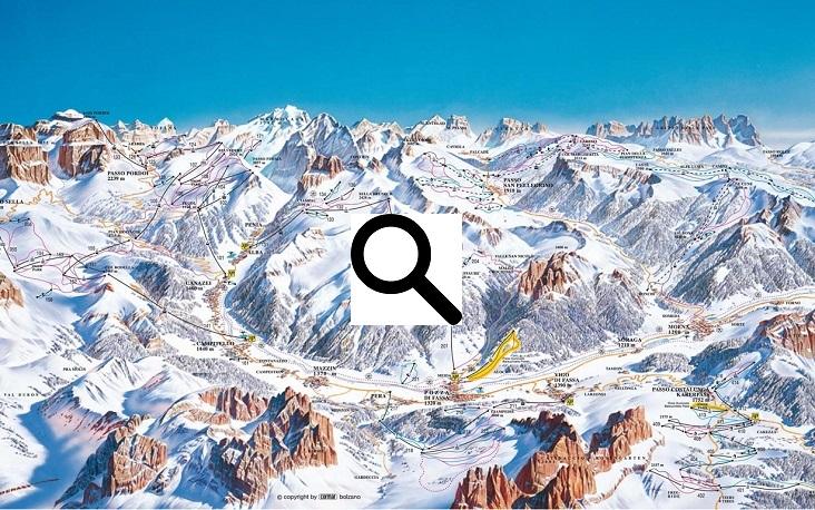 Skigebied Val di Fassa