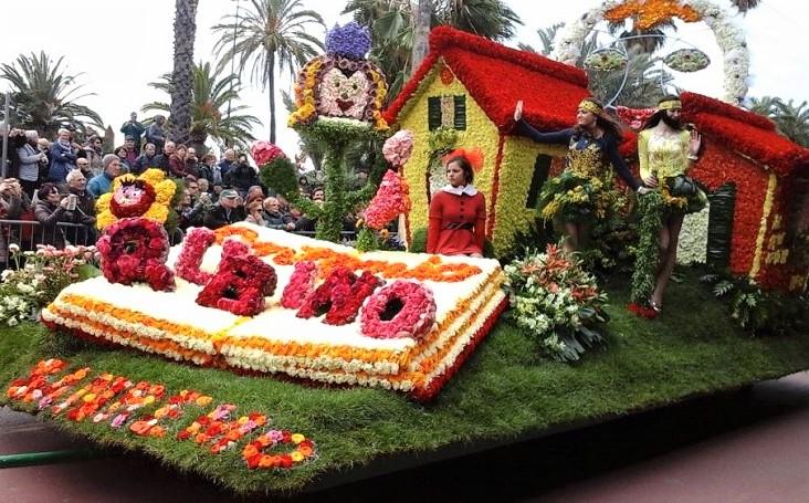 Bloemenfestivals in San Remo