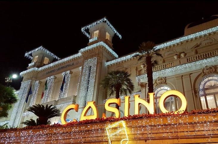 Het beroemde casino van San Remo