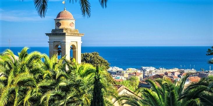 prachtig uitzicht over San Remo