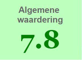 Waardering 7.8