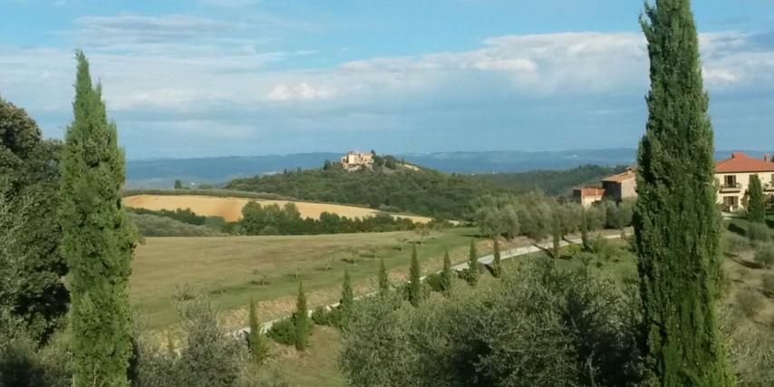 Vergezicht Toscane