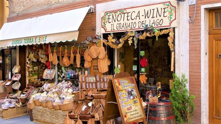oude winkeltjes Castiglione del Lago