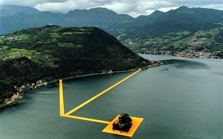 The Floating Piers Iseomeer