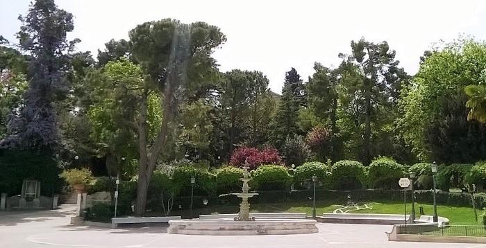 Villa Comunale in Chieti, Abruzzen