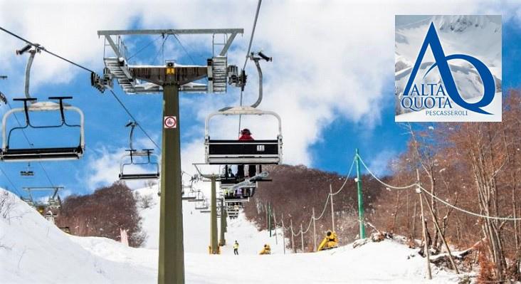 Skigebied Pescasseroli