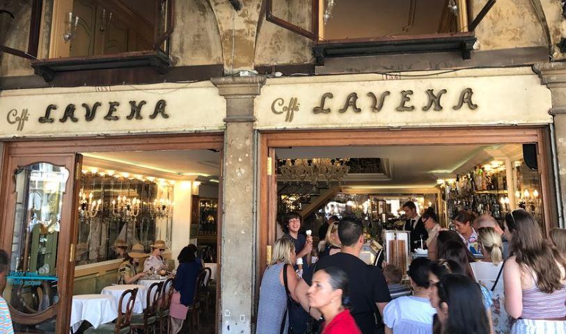 Gran Caffè Lavena in Venetië sinds 1750