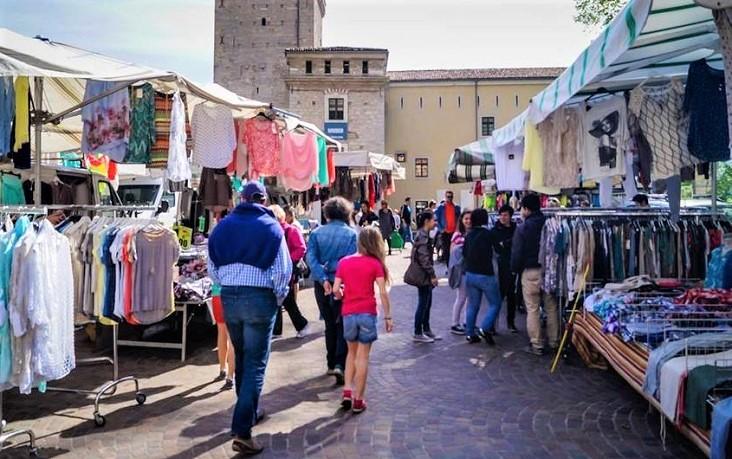 Markt in Riva del Garda