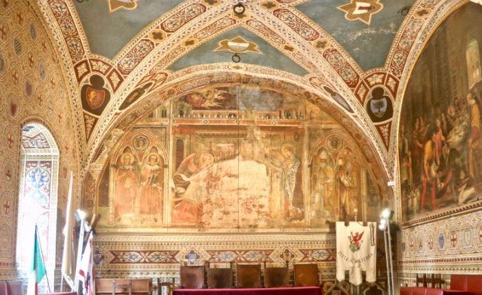 raadszaal van Palazzo dei Priori
