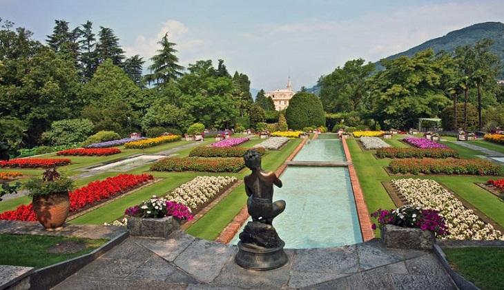 botanische tuinen van Villa Taranto
