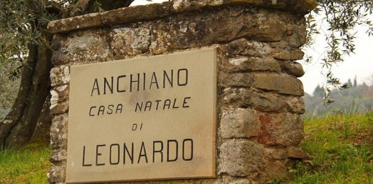 Anciano-geboorteplaats Leonardo Da Vinci