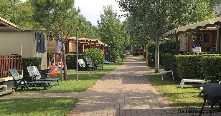 Camping Altomincio autovrije accommodaties