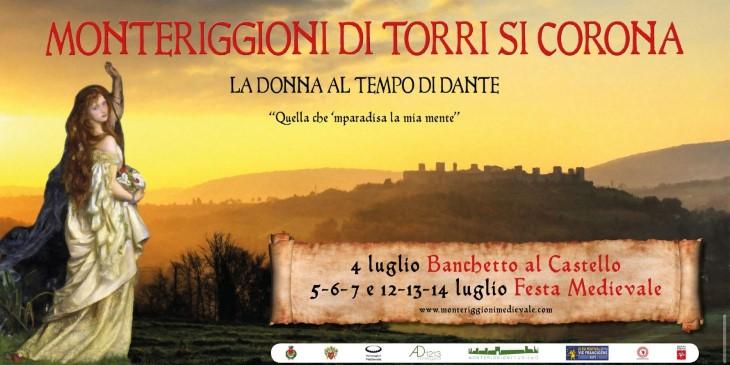 Festa Medievale van Monteriggione in 2019