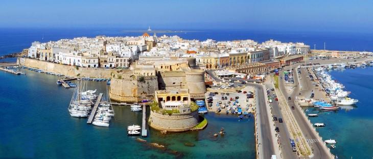 Gallipoli, parel van Puglia