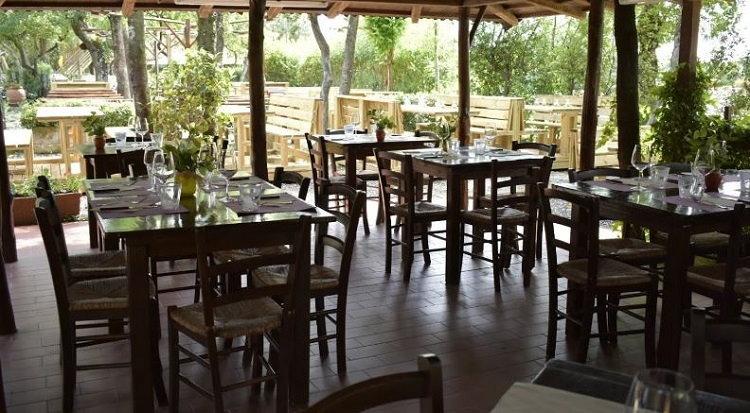 Montescudaio Village restaurant