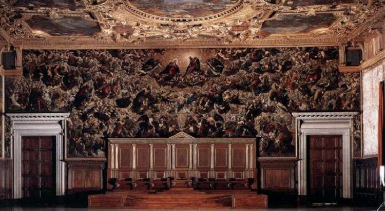 Paradijs van Tintoretto