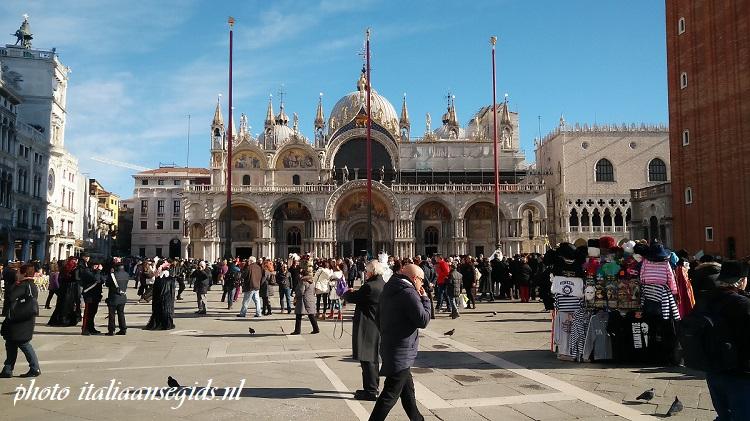 San Marcoplein - Piazza San Marco Venetië