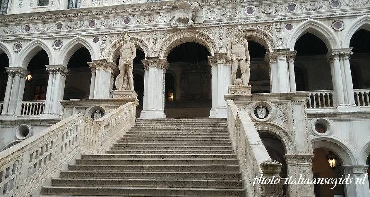 Scala dei Giganti Palazzo Ducale