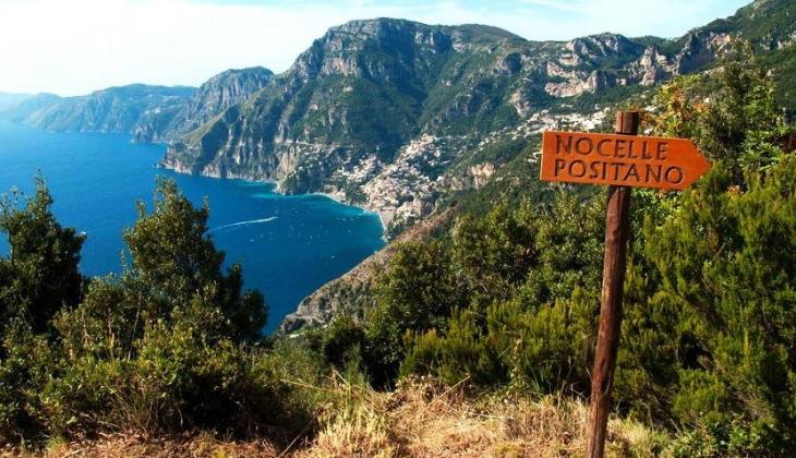 Sentiero degli Dei Amalfikust