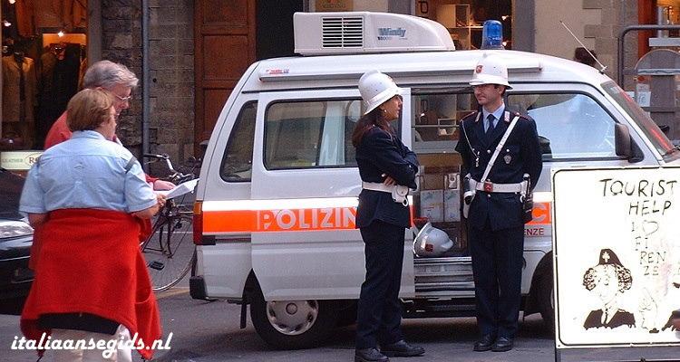 Toeristenpolitie-Florence