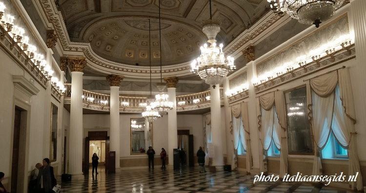 Koninklijke balzaal in het Correr Museum Venetië