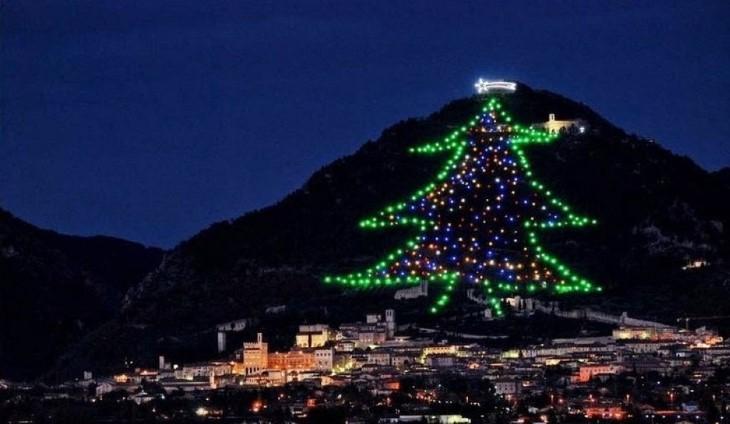 kerstboom Gubbio
