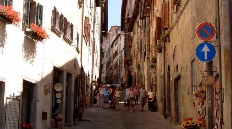kunst en souvenirs in Cortona
