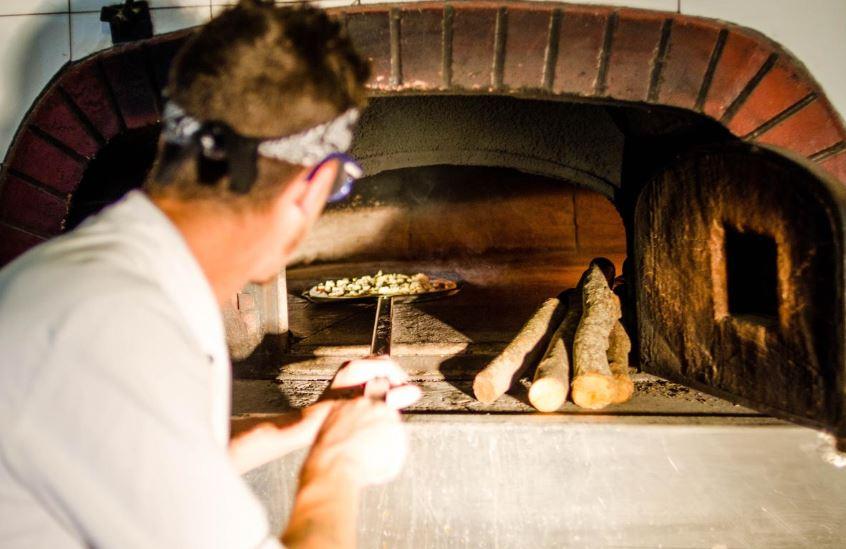 pizza bij Camping Village Salinello