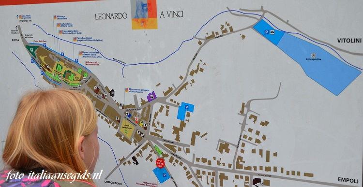plattegrond Vinci