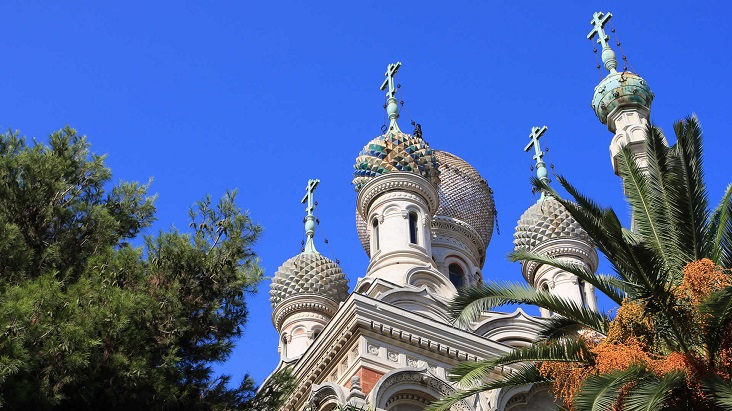 Russisch Orthodoxe kerk in San Remo
