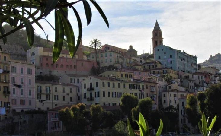 Stadsgezicht Ventimiglia