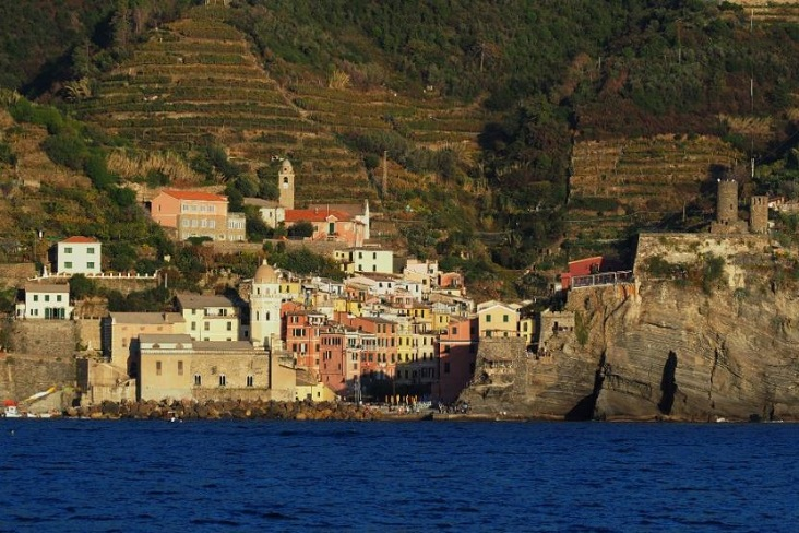 Vernazza in Ligurië