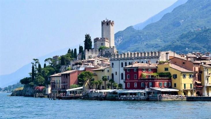 Limone sul Garda, pittoresk plaatsje aan het Gardameer